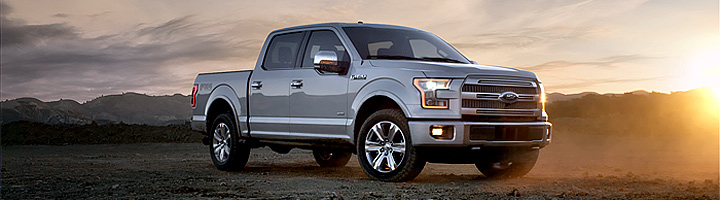 ALMA MATER  GETS TOUGH WITH THE FORD F-150
